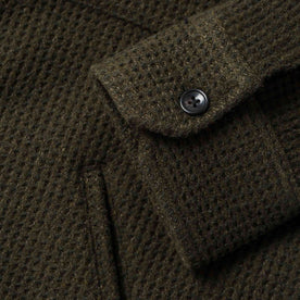 The Coit Jacket in Olive Waffle: Alternate Image 12