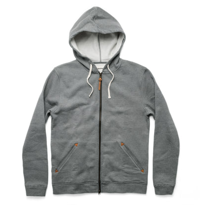 The Après Hoodie in Grey Stripe