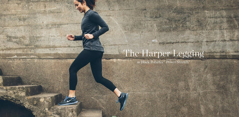 The Harper Legging in Black