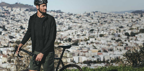 The Commuter Jacket in Black MerinoPerform™