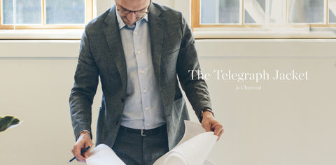 The Telegraph Jacket in Charcoal