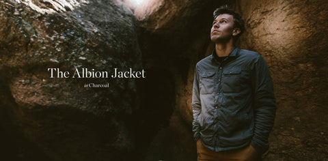 The Albion Jacket in Charcoal