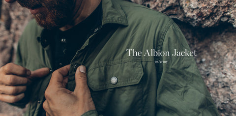 The Albion Jacket in Army
