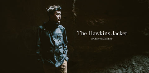 The Hawkins Jacket in Charcoal Neoshell