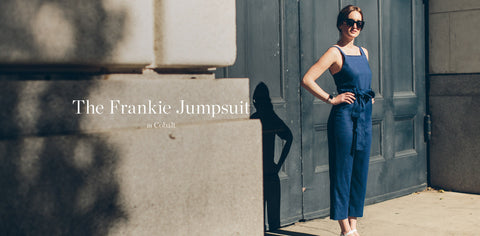 The Frankie Jumpsuit in Cobalt
