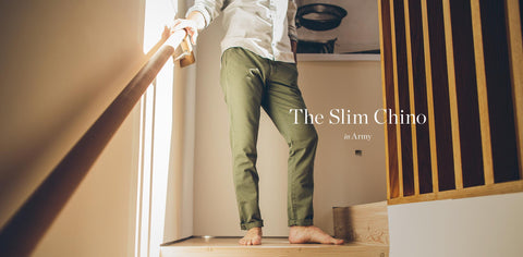 The Slim Chino in Army