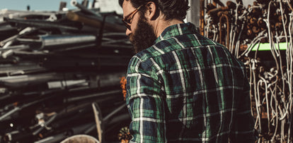 The Jack in Blackwatch Plaid Linen