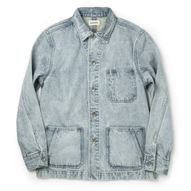 The Ojai Jacket in Washed Denim - featured image