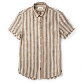 The Short Sleeve California in Desert Shadow Stripe - featured image