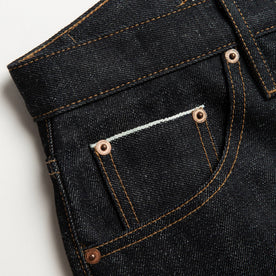 material shot of pocket detail