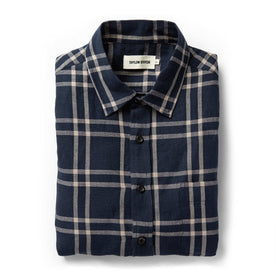 The California in Navy Plaid - featured image