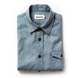 The Cash Shirt in Washed Hemp Chambray - featured image