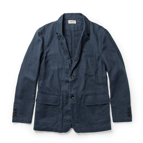 The Gibson Jacket in Navy - featured image