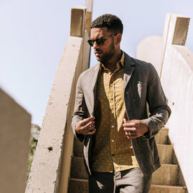 The Gibson Jacket in Gravel - featured image