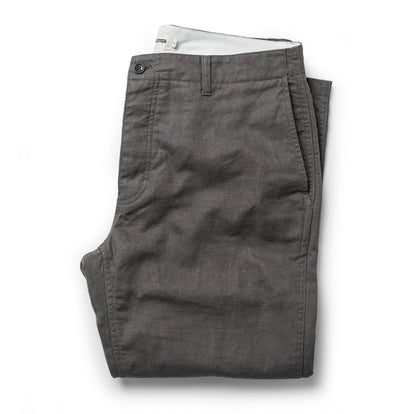 The Gibson Trouser in Gravel: Featured Image