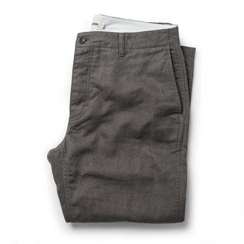 The Gibson Trouser in Gravel - featured image
