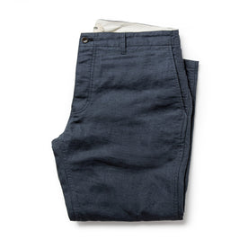 The Gibson Trouser in Navy: Featured Image