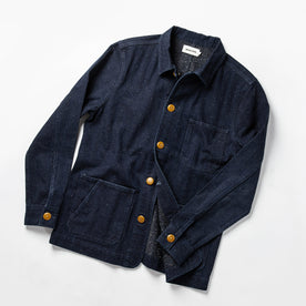 The Ojai Jacket in Indigo Herringbone: Alternate Image 9