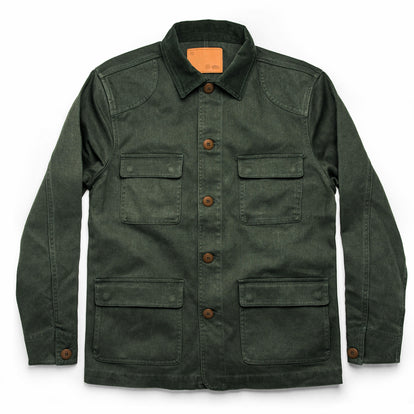 The Project Jacket in Olive Boss Duck: Featured Image