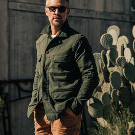 The Project Jacket in Olive Boss Duck - featured image