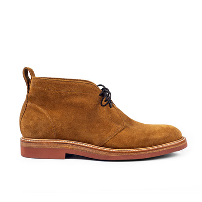 The Unlined Chukka in Butterscotch Weatherproof Suede: Featured Image