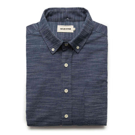 The Jack in Navy Slub Check - featured image