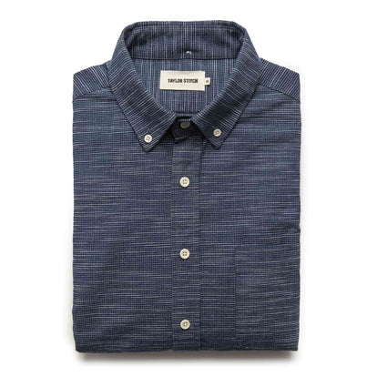 The Jack in Navy Slub Check: Featured Image