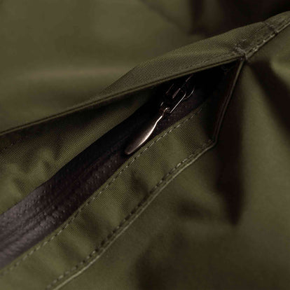 The Powder Jacket in British Khaki & Olive