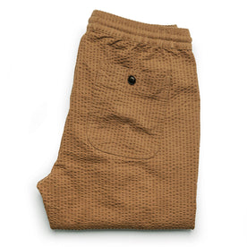 The Après Pant in British Khaki Seersucker: Alternate Image 10