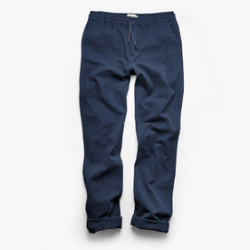 The Après Pant in Navy Seersucker: Alternate Image 8