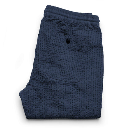 The Après Pant in Navy Seersucker: Alternate Image 9