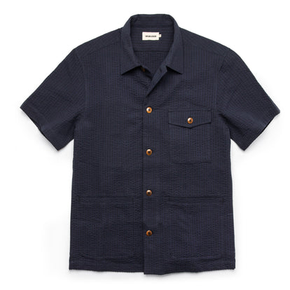 The Hemingway in Navy Seersucker: Featured Image