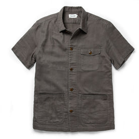 The Caravan Shirt in Walnut Double Cloth - featured image