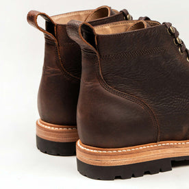 The Moto Boot in Chocolate Pebble Grain: Alternate Image 8