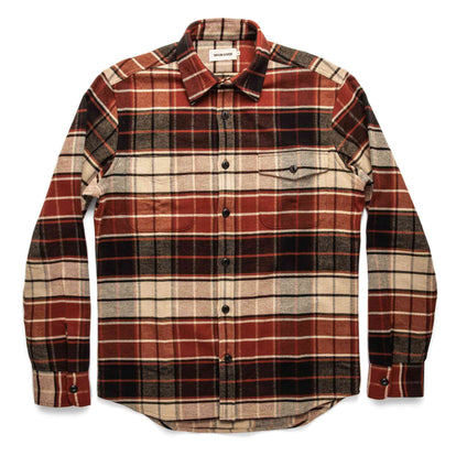 The Crater Shirt in Rust Plaid: Alternate Image 9