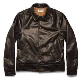 The Cuyama Jacket in Cola Leather: Featured Image