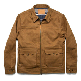 The Mechanic Jacket in British Khaki Boss Duck - featured image