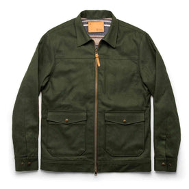 The Mechanic Jacket in Dark Olive Boss Duck - featured image