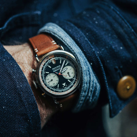 The Jack Mason x Taylor Stitch Aviator Multi‑Scale Chronograph - alternate view
