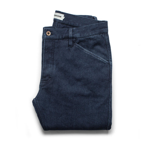 The Camp Pant in Indigo Boss Duck - featured image