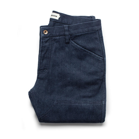 The Chore Pant in Indigo Boss Duck - featured image