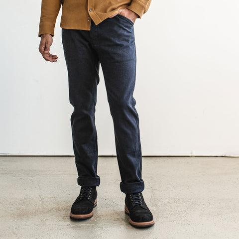 The Camp Pant in Indigo Boss Duck - alternate view