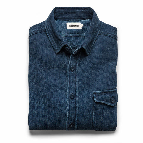 The Cash Shirt in Indigo Sashiko - featured image
