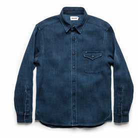 The Cash Shirt in Indigo Sashiko: Alternate Image 11