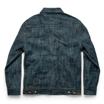 The Long Haul Jacket in Green Cast Selvage: Alternate Image 9