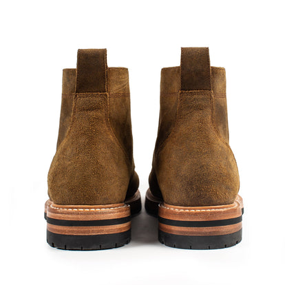 The Moto Boot in Golden Brown Waxed Suede: Alternate Image 8