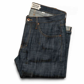 The Slim Jean in Green Cast Selvage: Featured Image