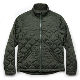 The Vertical Jacket in Olive - featured image