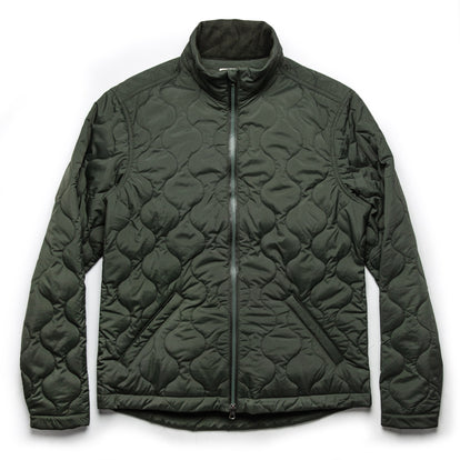The Vertical Jacket in Olive: Featured Image