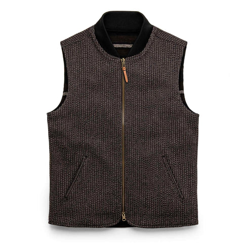 The Able Vest in Wool Beach Cloth - featured image